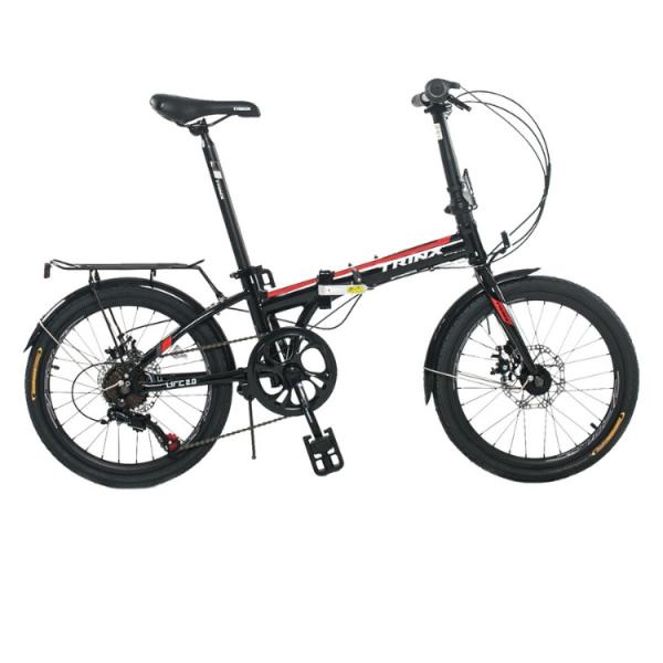 Mua Xe đạp gấp TrinX Life 2.0, Khung sườn hợp kim nhôm cao cấp Alloy 20X283mm, Trọng lượng 13kg, Bộ truyền động Shimano 7 Tốc độ, Vòng bánh 20in, Dành cho bạn cao từ 1m35, Màu Trắng Đỏ Đen