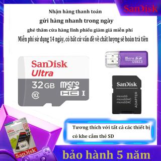 Thẻ nhớ MicroSDHC SanDisk Ultra 32GB 64GB 128GB tô c độ đo c 80MB s - Ghi 10MB s thumbnail