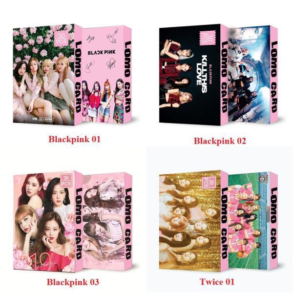 New Lomo Card Kpop Blackpink Twice Season 2020 Kèm Ảnh Thật Mẫu Mới