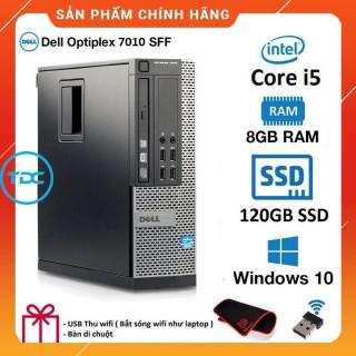 Case máy tính để bàn Dell Optiplex 7010 SFF Core i5 Ram 4GB SSD 120GB. Quà Tặng, Bảo hành 2 năm. Hàng Nhập Khẩu thumbnail