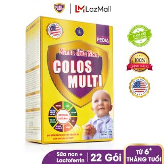 Sữa bột chuyên biệt cho trẻ biếng ăn, chậm cân Mama Sữa Non Colos Multi Pedia Hộp 352g thumbnail