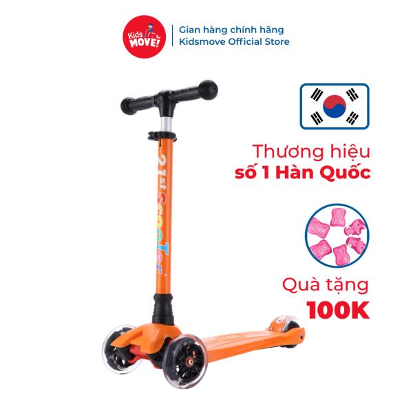 Mua Xe trượt scooter 3 bánh cho bé 2-12 tuổi chính hãng có đèn LED 21stscooter CANDY nhập khẩu cao cấp