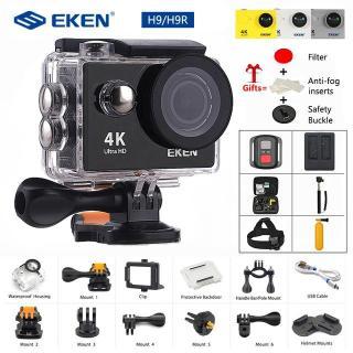 Giá Camera Hành Trình Gopro Camera Hành Trình Eken H9R Full Hd 4K Có Wifi Cao Cấp Tiện Lợi (Giảm-50%) Hình Ảnh Chân Thực Độ Nét Cao Chống Rung 100%,Chống Va Đập Tuyệt Đối.Bh 1 Năm 1 Đổi 1. Ms299 thumbnail