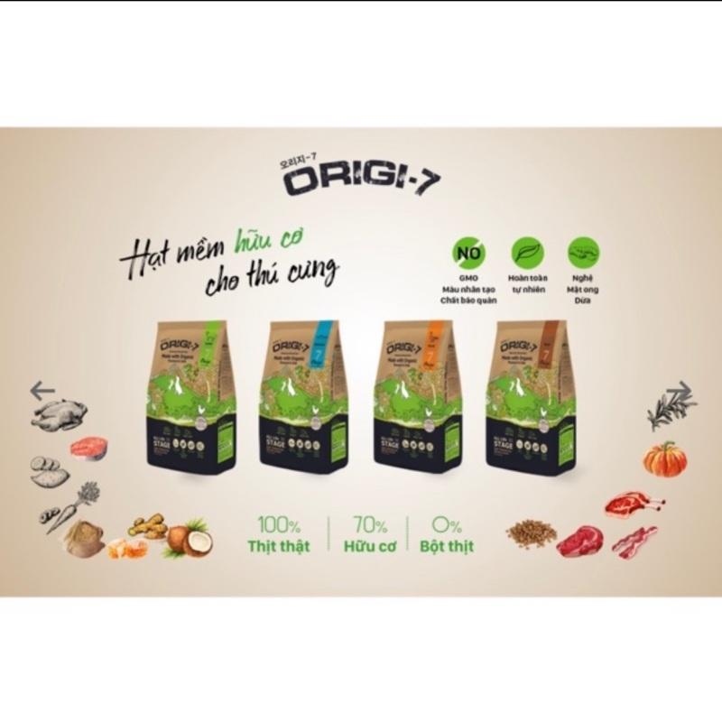 Hạt mềm hữu cơ Origi 7 cho chó gói 400g