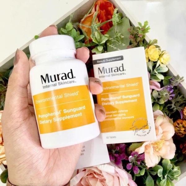 [DATE MỚI] Viên Uống Chống Nắng Nội Sinh Murad Pomphenol Sunguard Dietary Supplement murad