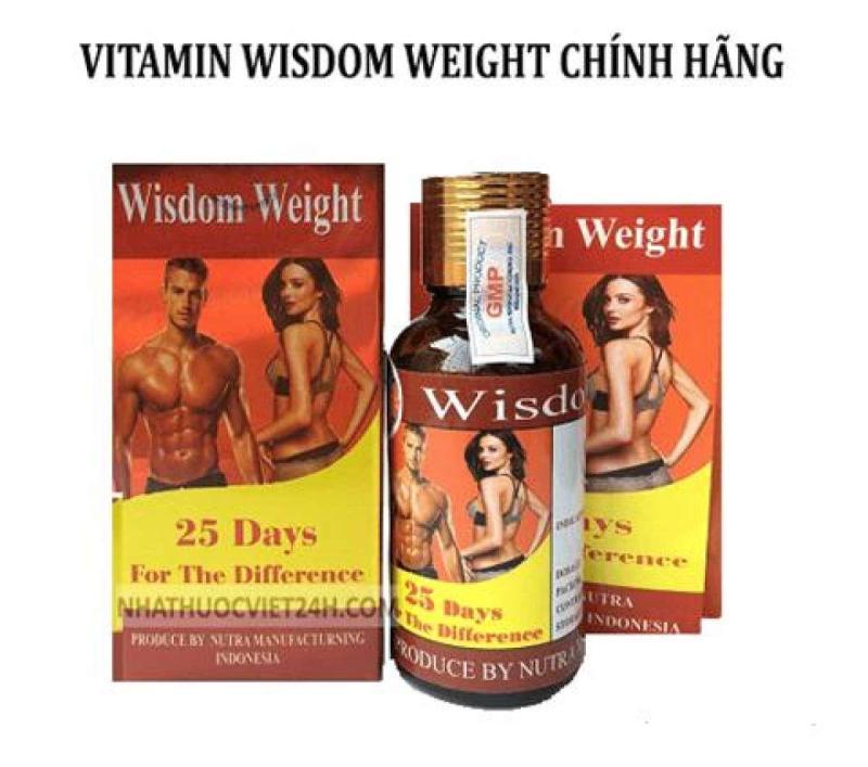 Viên uống tăng cân wisdom weight nhập khẩu