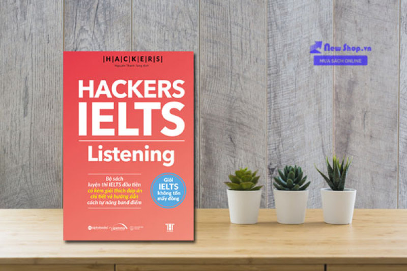 Mua Hackers IELTS : Listening [Sách bản quyền]