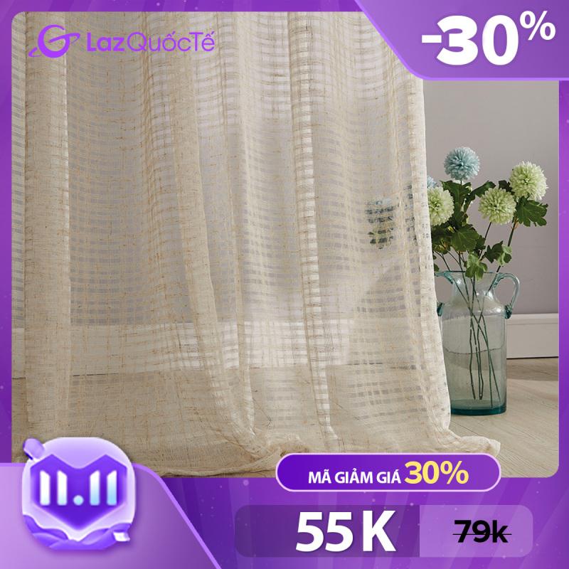 Napearl Rèm cửa/màn che vải mỏng với phong cách đơn giản hiện đại cho ngôi nhà mới của bạn vào mùa hè có kích thước 100/150/200x130/210/260cm, giá tốt - INTL
