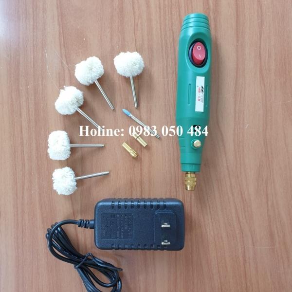 máy đánh bóng mini cầm tay K001-5L - len đánh bóng - nỉ đáng bóng - bông đánh bóng