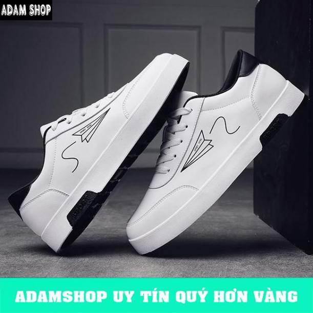 Giày Thể Thao Nam Trắng Mẫu Mới (Giá Cực Shock) - ADAM SHOP(AD05) giá rẻ