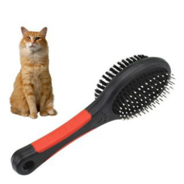Lược 2 đầu cao cấp chải lông cho chó mèo