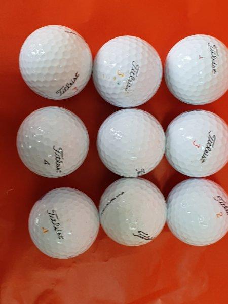 Combo 9 quả BÓng Golf Titleist Pro V1. Bóng Golf Chính Hãng