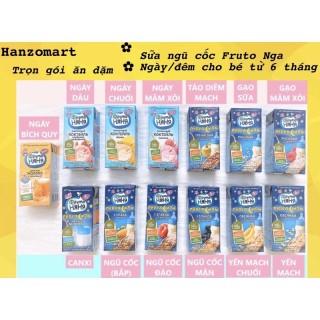 [Hàng Air] Sữa Ngũ Cốc Đêm Ngày Fruto Nyanya Fructo Nga Cho Bé Từ 6M+ - Vị Bích Quy 12M+ thumbnail