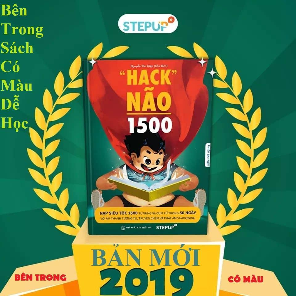 Giá Tiết Kiệm Để Sở Hữu Ngay Hack Não 1500 - BẢN MỚI 2019 ( BÊN TRONG CÓ MÀU TẶNG KÈM 50 UNITS AUDIO NGHE VÀ 50 UNITS VIDEO )