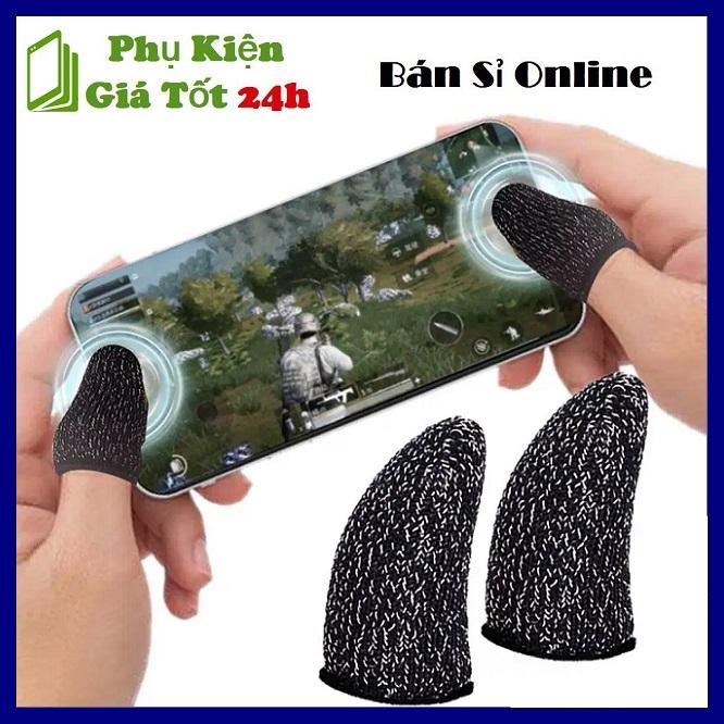 ⚡ Bộ Bao 2 Ngón Tay Chuyên Dụng Chơi Game Mobile Chống Ra Mồ Hôi Tay - Găng Tay Chống Mồ Hôi Chơi Game B.ắn S.úng Trên Điện Thoại Chuyên Nghiệp (1 cặp) ⚡