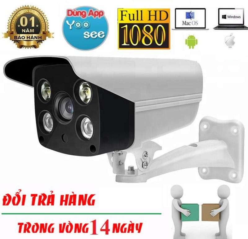 Camera Wifi Yoosee ngoài trời quay đêm có màu, đàm thoại 2 chiều IPW011