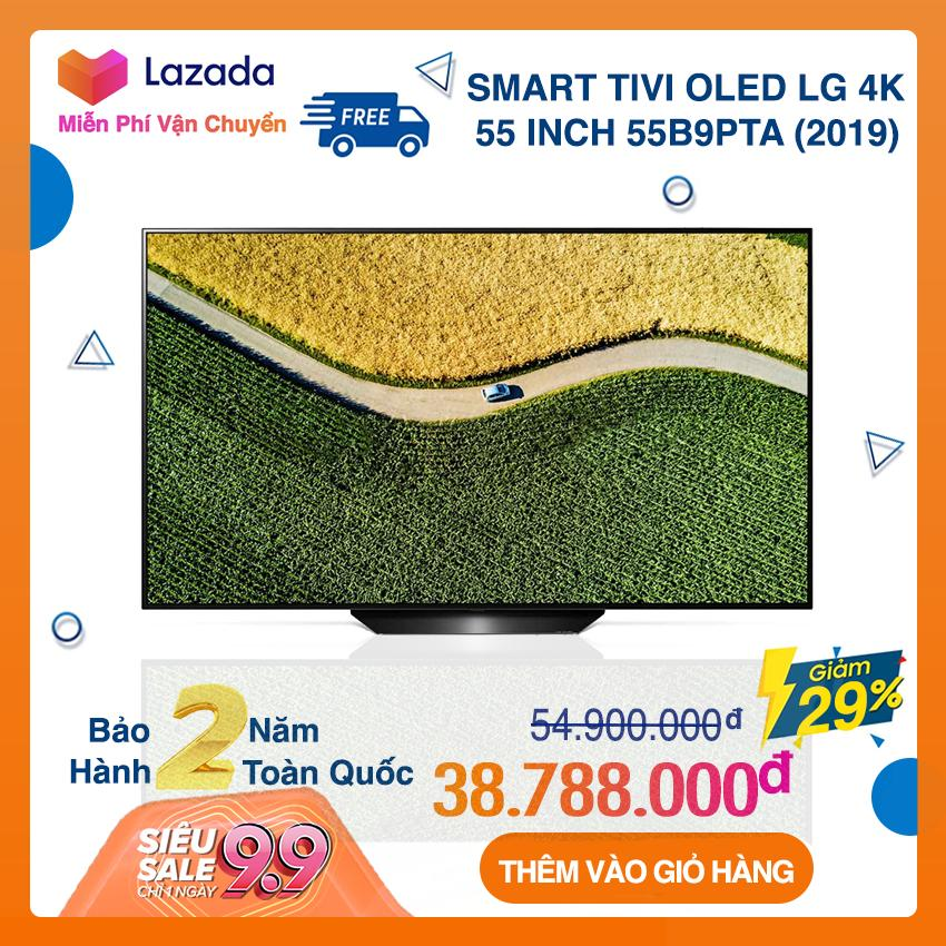 Smart Tivi OLED LG 55 inch Ultra HD 4K - Model 55B9PTA (Đen) NEW (Có Magic Remote)