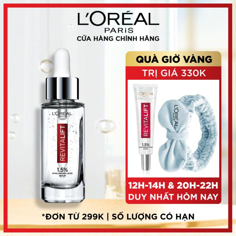 Serum siêu cấp ẩm sáng da LOreal Paris pure Hyaluronic Acid 1.5% 30ml giá rẻ