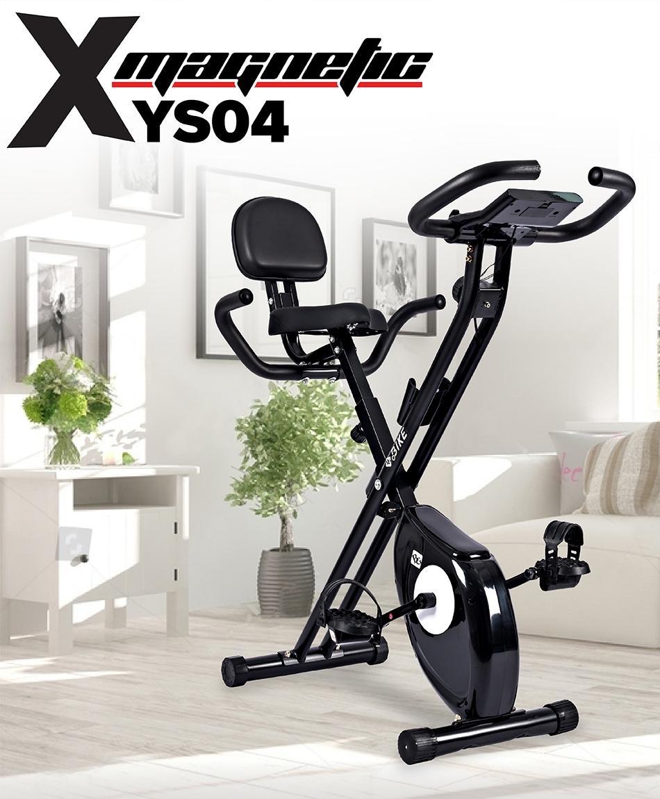 Bảng giá [Có video] GYM - Xe đạp tập thể dục Spin Bike hot năm 2019 YS04 có tựa lưng ưu việt