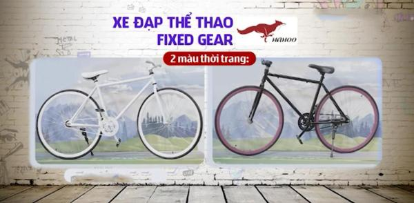 Mua Xe đạp thể thao FIXED GEAR [Hahoo]