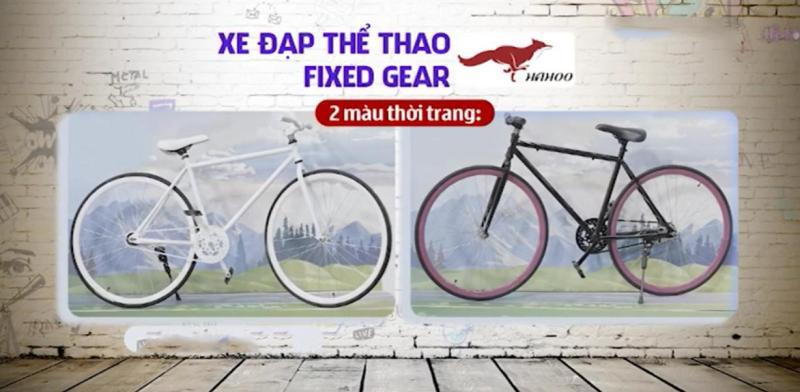 Phân phối Xe đạp thể thao FIXED GEAR [Hahoo]