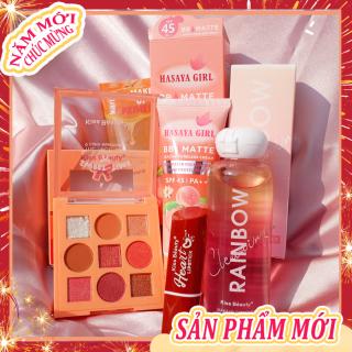 [HCM][Peachy Sis Shop] Bộ mỹ phẩm Kiss Beauty-5 món đầy đủ(Kem cách ly Trong suốt+kem BB+9 bóng mắt+Son môi+Dầu tẩy trang dạng nước) thumbnail