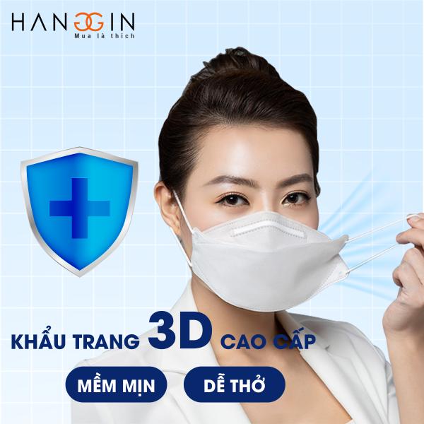 Khẩu Trang Cao Cấp 3D Mask - Thương Hiệu Dovi - Kháng Khuẩn Chống Bụi Ngăn Virus - Không Làm Mờ Kính - Mềm Dịu Dễ Thở - Cam Kết 100% Hàng Xịn Chính Hãng - HXCH Company - Đóng Gói 1 Túi 6 Chiếc Khẩu Trang Cao Cấp - Khẩu Trang Giá Sỉ giá rẻ