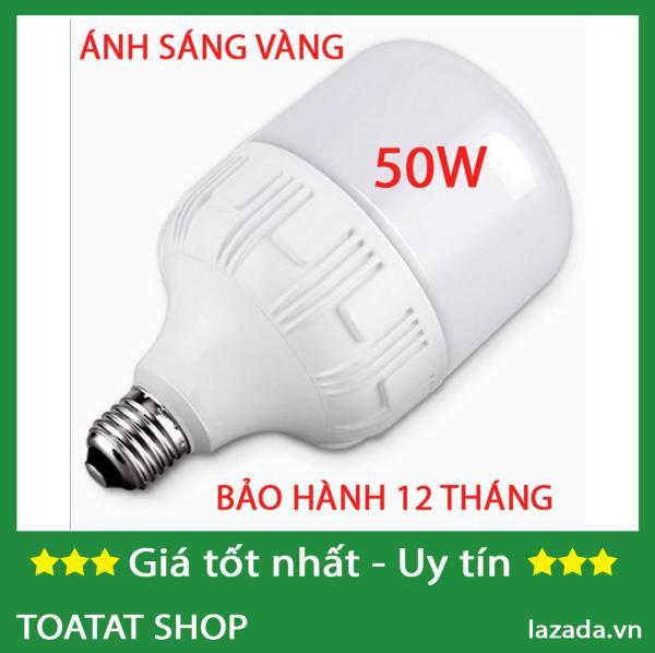 [Combo Sĩ] Bộ 10 Bóng đèn led trụ 50w (trắng)