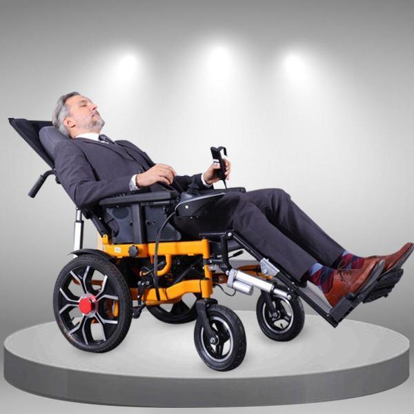 Xe lăn điện đa năng phong cách hiện đại vừa nằm vừa gấp được TM083