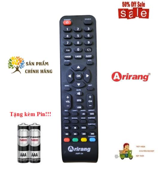 Bảng giá Remote Điều khiển tivi Arirang LED/LCD/Smart TV- Hàng chính hãng theo TV 100% Tặng kèm Pin