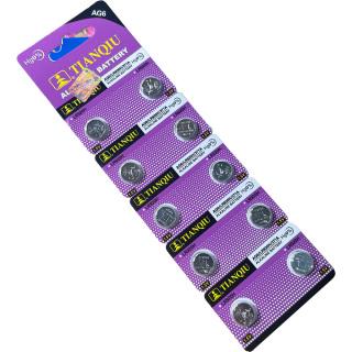 Vỉ (10 viên) crnaira pin AG6 LR920 371 SR920 171 dùng cho đồng hồ đeo tay, thiết bị điện tử thumbnail