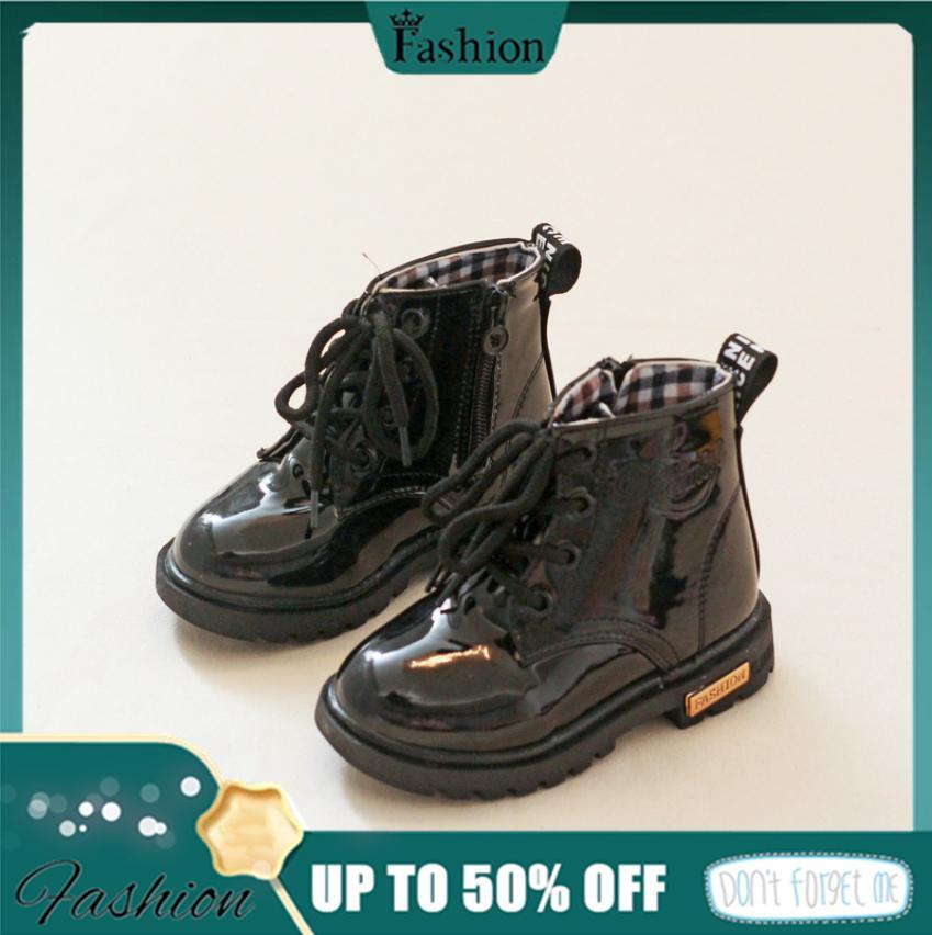Giá bán Giày Trẻ Em Giày Bốt Martin Chống Nước Ủng Martin Giày Giày Bốt Nữ