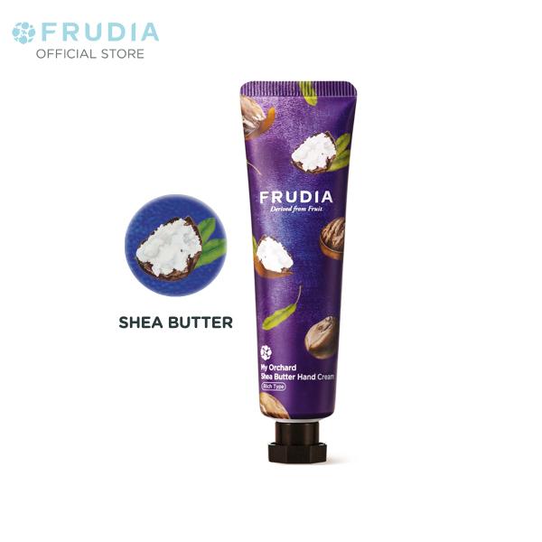 Kem Dưỡng Ẩm Tay Chiết Xuất Bơ Hạt Mỡ Frudia My Orchard Shea Butter Handcream 30ml