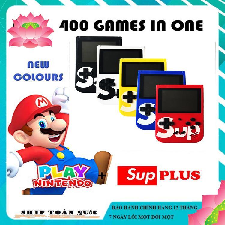 Máy Chơi Game Sup 400 in 1,  Máy Game Cầm Tay, Máy Chơi Game Cầm Tay Mini G1 Plus, Máy chơi Game 4 nút cầm tay (màu ngẫu nhiên)
