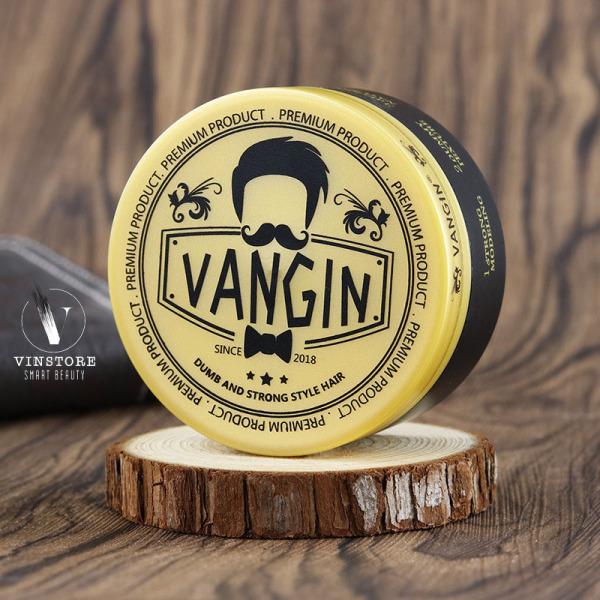 Sáp vuốt tóc Clay wax Vangin chính hãng - Sáp vuốt tóc nam tạo kiểu tóc - Dành cho tóc khô cứng, rễ tre