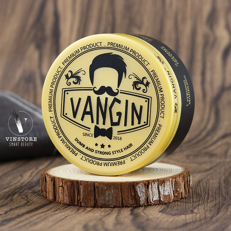 [Chính hãng] Sáp vuốt tóc Claywax Vangin dành cho tóc khô cứng, rễ tre giá rẻ