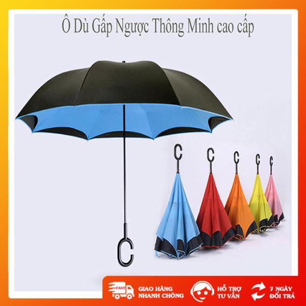 Dù gắp ngược thông minh, ô che mưa che nắng tiện lợi đóng mở dễ dàng - GD0376