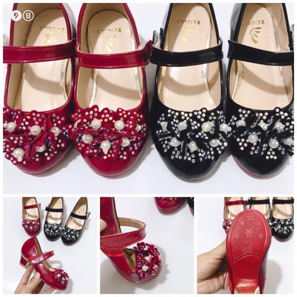 Giá bán Giày cao gót cho bé gái 3cm 91207 sz25-34