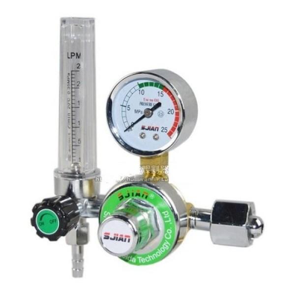 Đồng hồ khí Argon SJIAN chuyên dùng cho máy hàn Tig