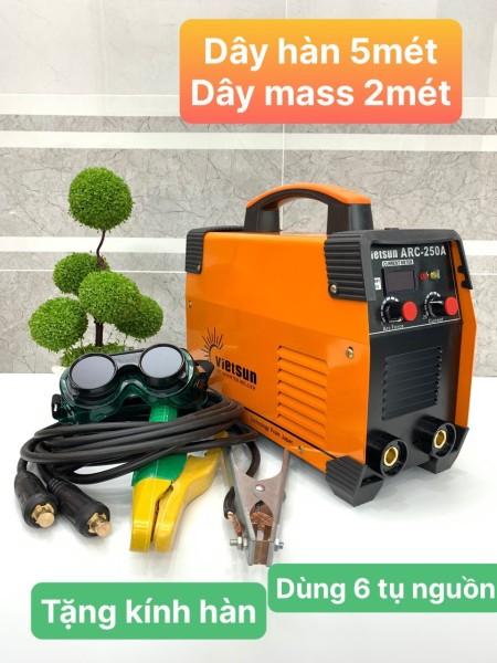 máy hàn điện tử vietsun ARC250A , máy hàn tốt, vietsun, máy hàn rẻ, máy hàn mini
