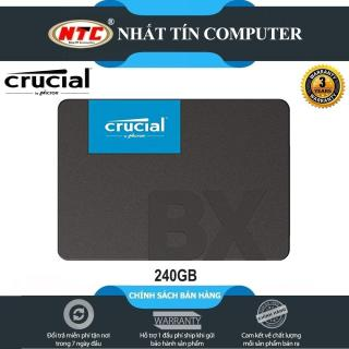 [Nhập ELJUN21 giảm 10% đơn từ 99K max 200K] Ổ cứng SSD gắn trong Crucial BX500 3D NAND SATA III 2.5 inch 240GB R540MB s W500GB s (Đen) - Nhất Tín Computer thumbnail