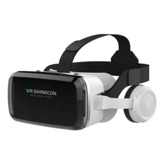 ( TRỢ GIÁ MÙA DỊCH ) Kính Thực Tế Ảo Chính Hãng - Bluetooth Hỗ Trợ Màn Hình 6.5inch Có Tai Nghe VR Shinecon G04BS Hình Ảnh Siêu Rõ Nét, Phù Hợp Mọi Loại Điện Thoại - Cam Kết không Đau Mắt - Trải Nghiệm Thế Giới 3D 4D 5D chân thật thumbnail