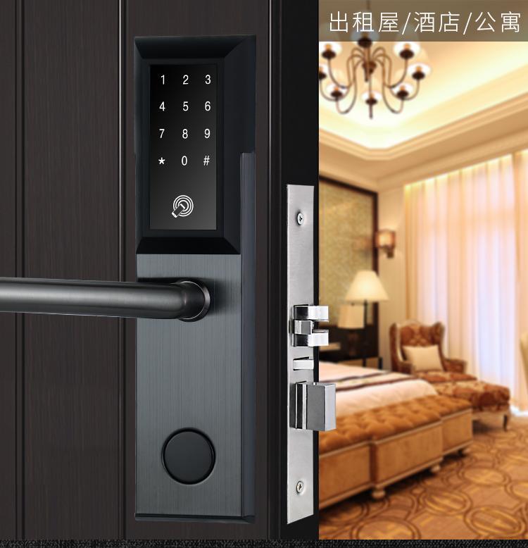 Khóa cửa điện tử thông minh khóa chống trộm dùng APP- mở khóa bằng điện thoại, mã số, thẻ từ, chìa cơ- Kết nối Bluetooth - Bảo hành 12 tháng - Hỗ trợ lắp đặt và cài đặt - Mở bên phải