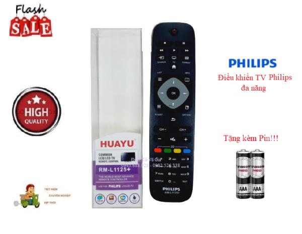 Bảng giá Remote Điều khiển TV Philips đa năng các dòng tivi Philips LCD/LED/Smart TV- Hàng tốt tương thích 100%Tặng kèm Pin