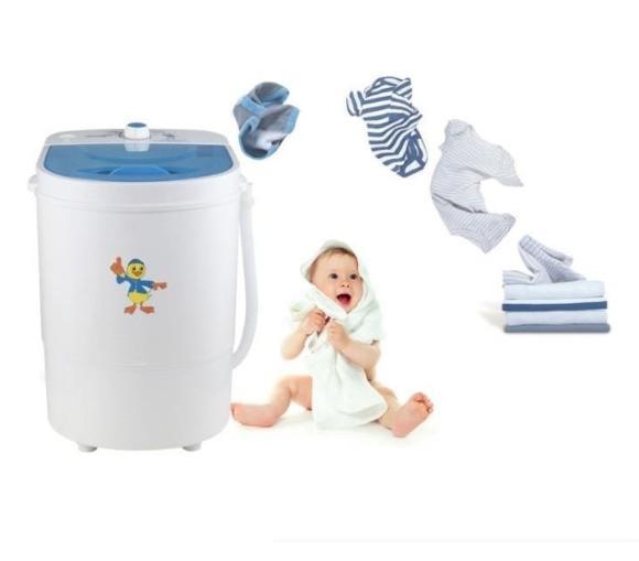 Máy giặt mini 1 lồng giặt xả DUCKY 2019 tràn viền