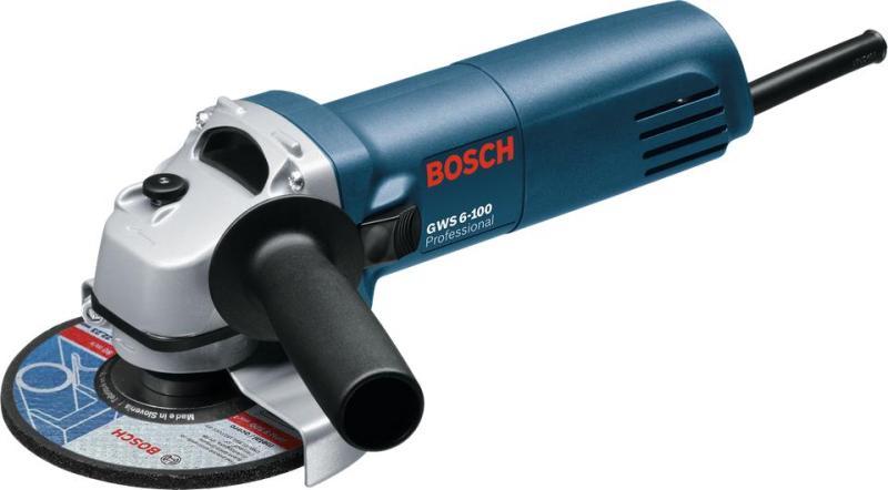 Máy mài góc Bosch GWS 6-100S + Quà tặng áo mưa