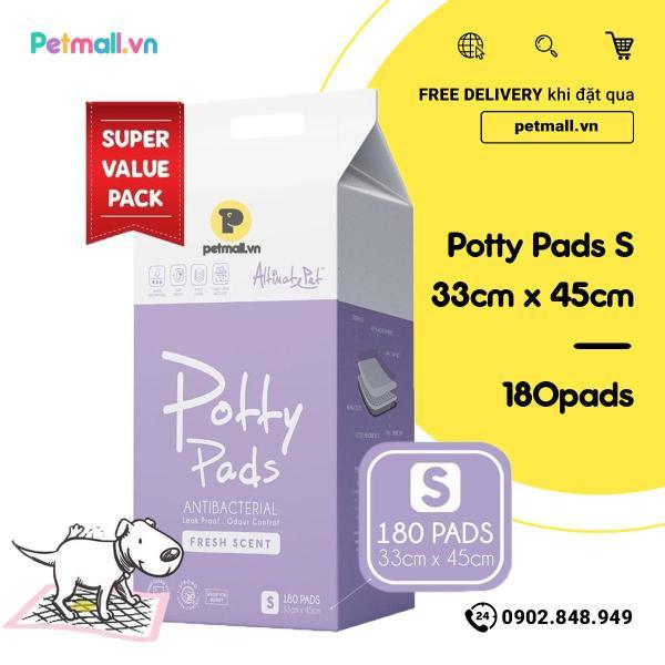 Tấm lót vệ sinh Potty Pads 33cm x 45cm - 180 tấm Singapore