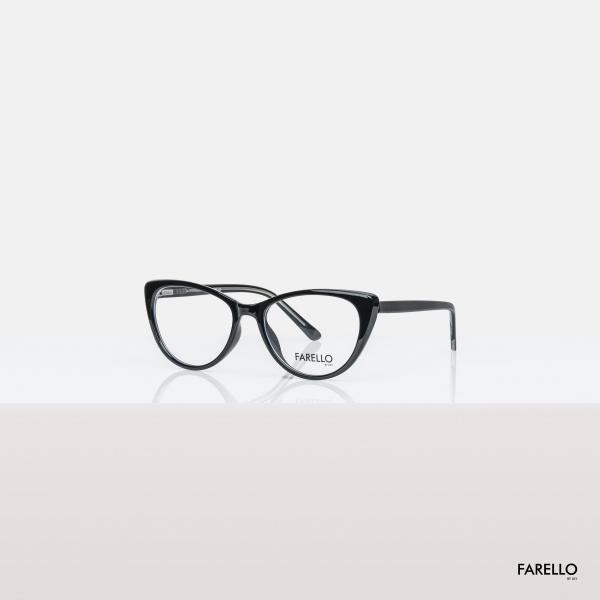 Giá bán Gọng kính cận nữ FARELLO nhựa bọc kim loại, mắt mèo, nhiều màu - CATEY Y8013