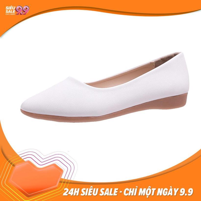 Giày Nữ Búp Bê Đế Bệt Mũi Nhọn giá rẻ