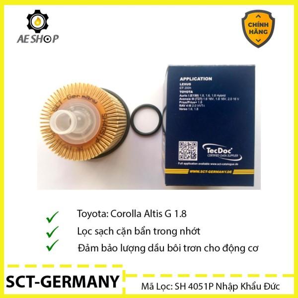 Lọc Dầu Ô Tô SCT - Germany Cho Xe Corolla Altis G 1.8 SH 4051P [Chính Hãng]